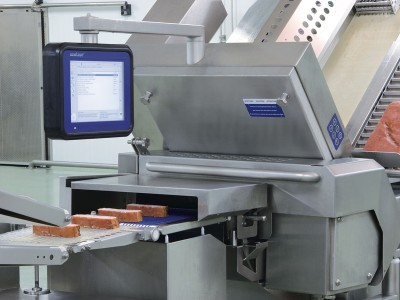 slicer machine and categorization transporter